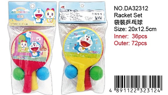 DORAEMON RACKET SET