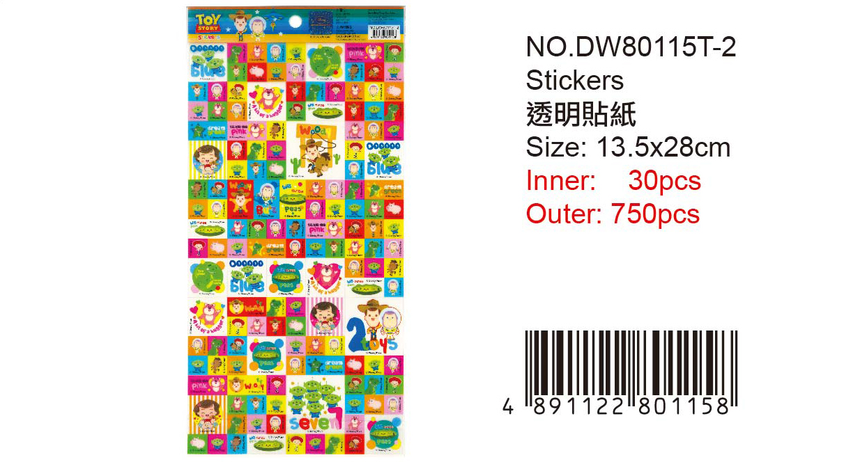 TOY STORY STICKER