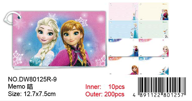 FROZEN MEMO CARD