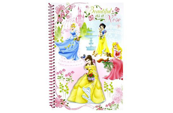 PRINCESS DIECUT NOTEBOOK