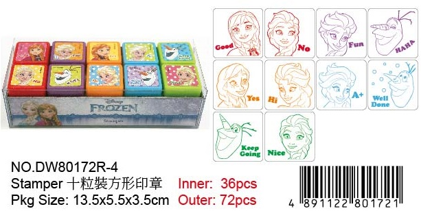 FROZEN STAMP SET