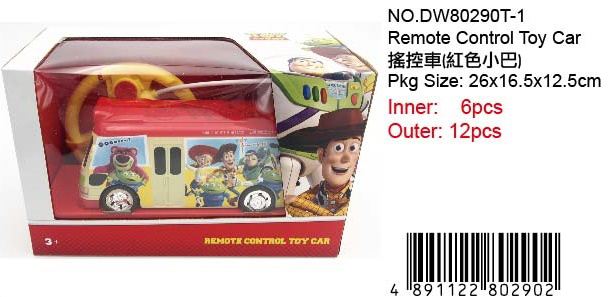TOY STORY REMOTE CAR