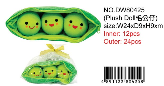 PEAS IN A POD PLUSH DOLL