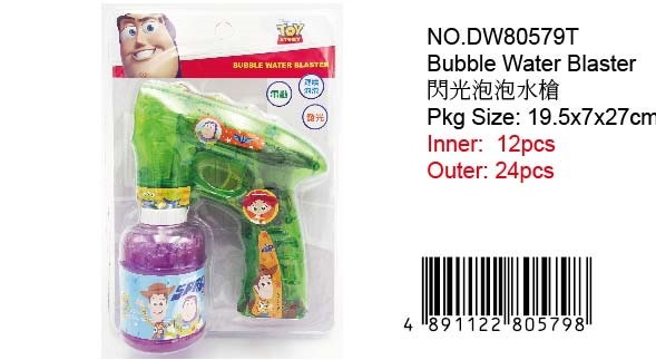 TOY STORY BUBBLE BLASTER