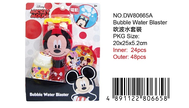 MICKEY BUBBLE BLASTER