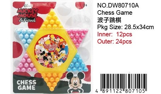 MICKEY MARBLE GAME SET