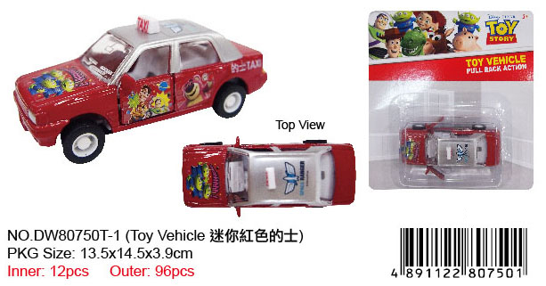 TOY STORY MINI TAXI