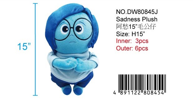 INSIDE OUT PLUSH DOLL