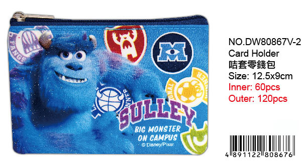 MONSTERS U COIN PURSE