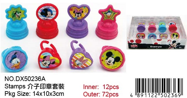MICKEY STAMP SET