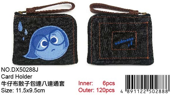 INSIDE OUT COIN PURSE