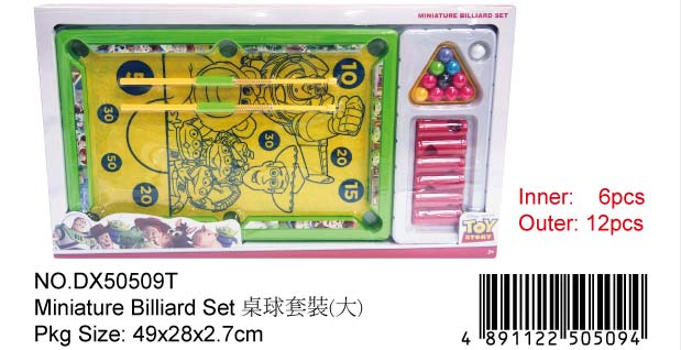 TOY STORY SNOOKER SET