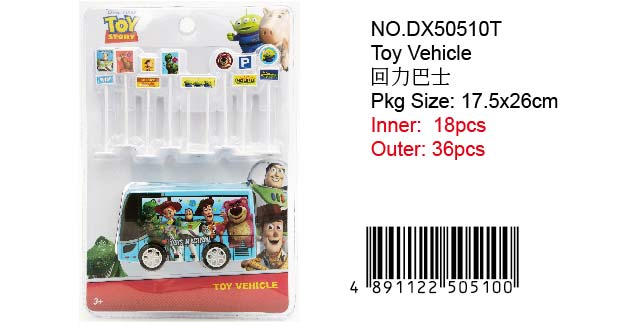 TOY STORY BUS SET