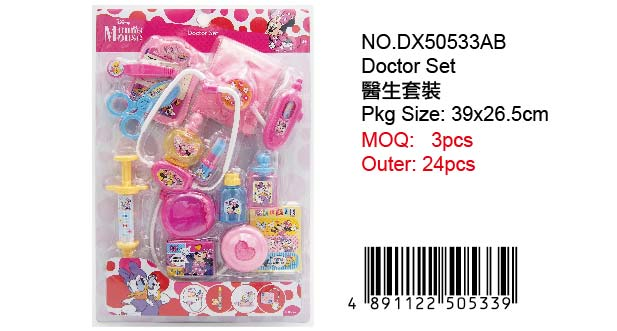 MINNIE DOCTOR TOY