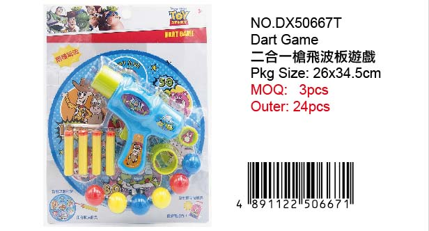 TOYS STORY DART GAME