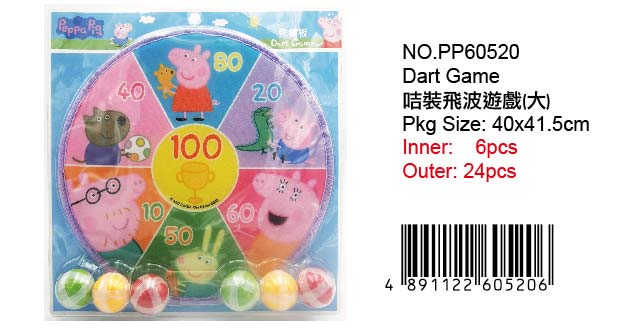 PEPPA PIG DART GAME