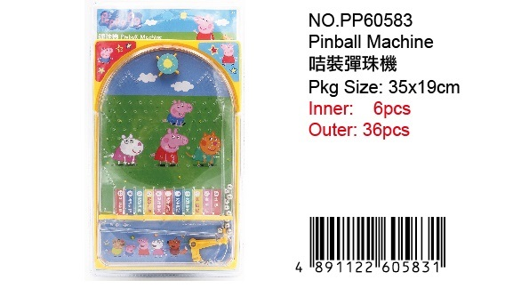PEPPA PIG PINBALL GAME