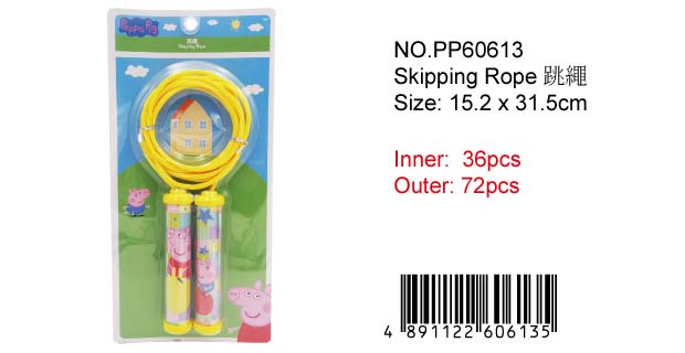PEPPA PIG ROPE SKIPPING