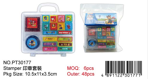 PAW PATROLSTAMP SET