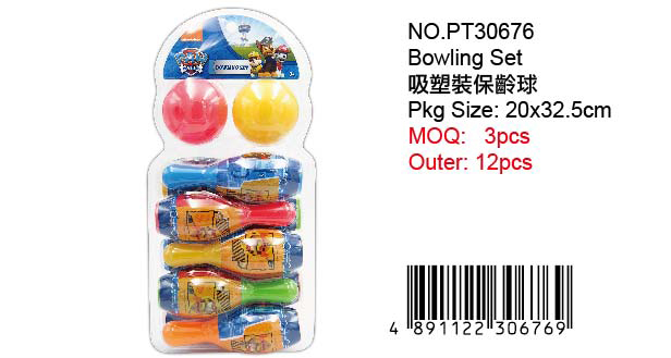 PAW PATROLBOWLING SET