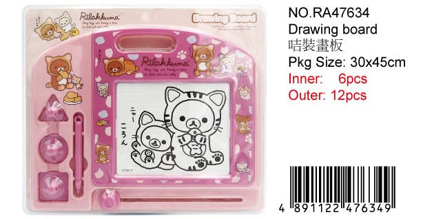 RILAKKUMA DRAWING BOARD