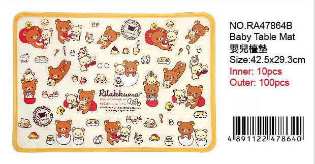 RILAKKUMA Table Mat