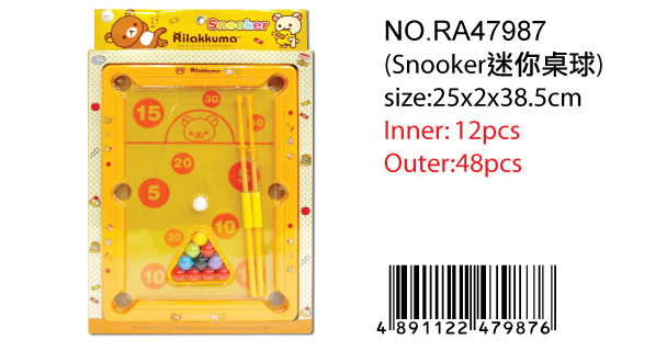 RILAKKUMA SNOOKER SET