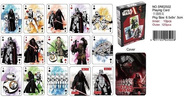 STAR WARS PLAYING CARD