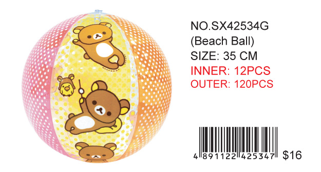 RILAKKUMA BEACH BALL