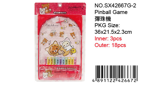 RILAKKUMA PIN BALL GAME