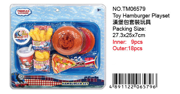 THOMAS TOY HAMBURGER PLAYSEY